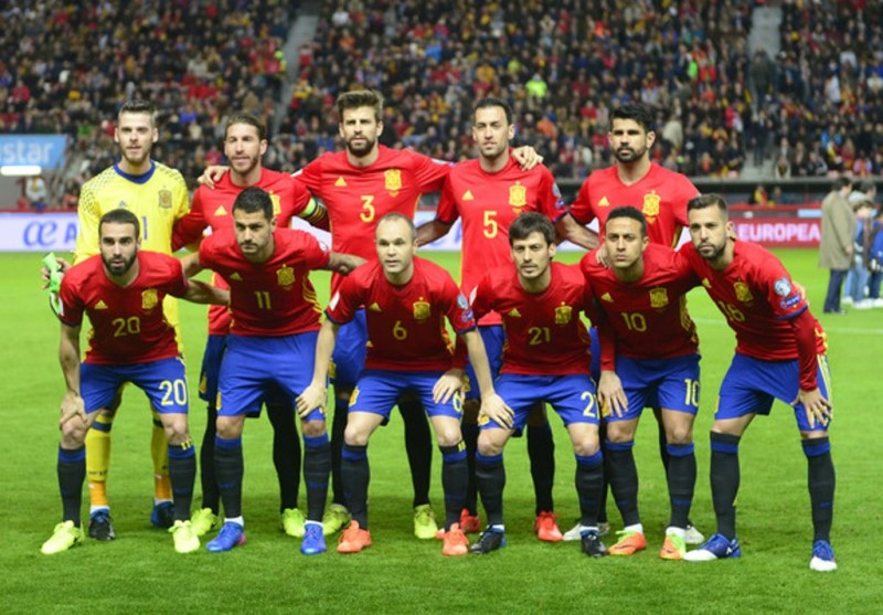 World Cup 2018 Spain