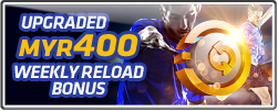 20% WEEKLY RELOAD BONUS!