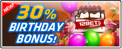 30% BIRTHDAY BONUS