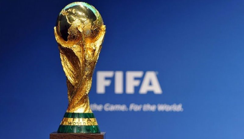 2018 FIFA World Cup trophy