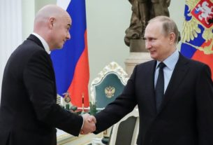 Gianni Infantino satisfied with Russia's World Cup preparations
