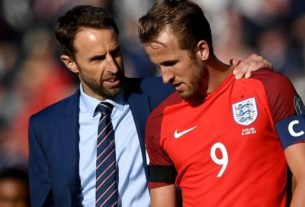 England boss Gareth Southgate has plans incase Harry Kane miss World Cup