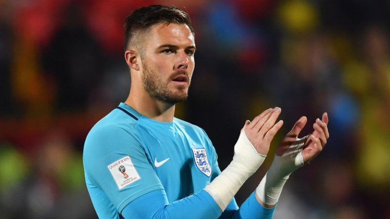 Stoke keeper Jack Butland hopes to be part of England's World Cup squad