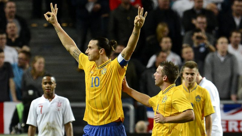 Zlatan Ibrahimovic hits World Cup comeback for Sweden