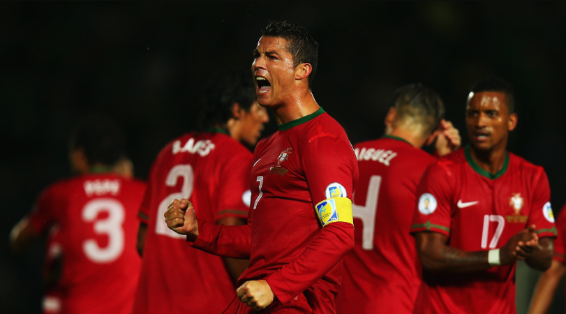 Jose Mourinho backed Ronaldo to lead Portugal to World Cup glory
