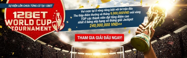 12BET World Cup Tournament Banner