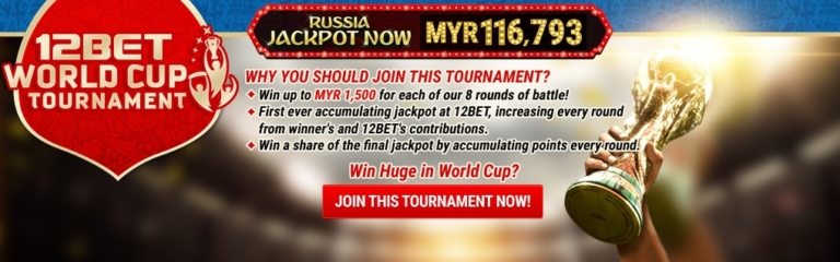 12BET World Cup Tournament Jackpot